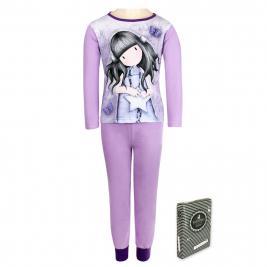 Santoro - Gorjuss hosszú pamut pizsama lányoknak