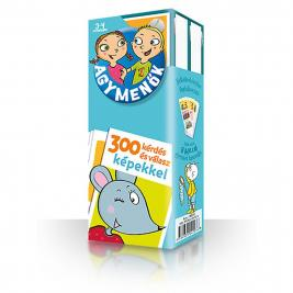 Agymenők kártyacsomag 3-4 éves