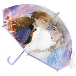 Jégvarázs - Frozen átlátszó esernyő 45 cm