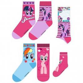 Én Kicsi Pónim - My Little Pony 3 db-os zokni szett