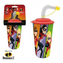 The Incredibles - A hihetetlen család szívószálas pohár