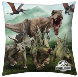Jurassic World dinós párna 40x40 cm.