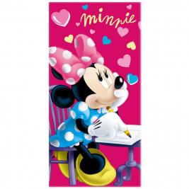 Minnie egér - Minnie Mouse pamut strand törölköző 70*140 cm