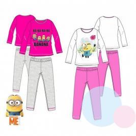 Minion hosszú pamut pizsama lányoknak