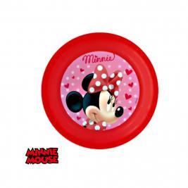 Minnie egér 3D műanyag tányér