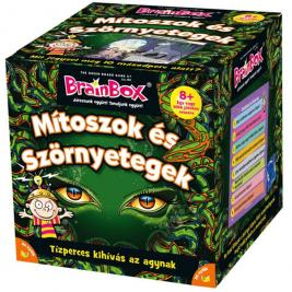 Brainbox Mítoszok és szörnyetegek- memória és kvíz kérdések játék