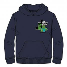 Minecraft kapucnis pulóver
