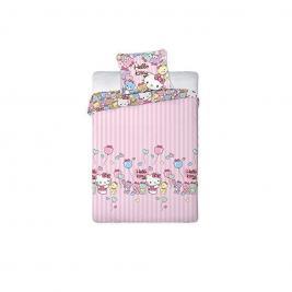 Hello Kitty ágyneműhuzat 160*200 és 70*80 cm