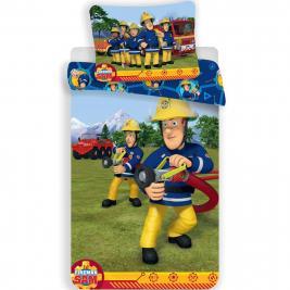 Sam a tűzoltó ovis ágyneműhuzat 100*135 és 40*60 cm