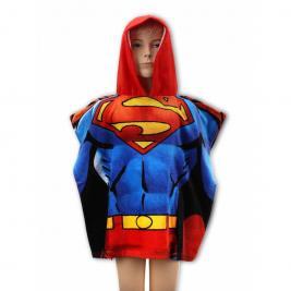Superman pamut poncsó törölköző