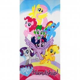 Én Kicsi Pónim - My Little Pony pamut strand törölköző 70*140 cm