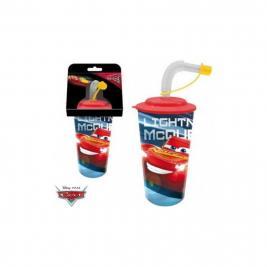 Verdák - Cars 3D szívószálas pohár