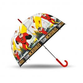 Hihetetlen család átlátszó esernyő