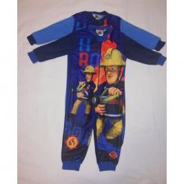 Fireman Sam - Sam a tűzoltó egyrészes polár pizsama
