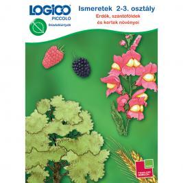LOGICO Piccolo 3462 - Ismeretek 2-3. osztály: Erdők, szántóföldek és kertek növényei