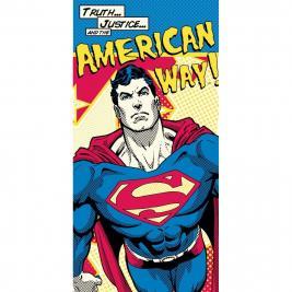 Superman pamut strand törölköző 70*140 cm