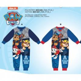 Mancs Őrjárat fiú  egyrészes polár pizsama