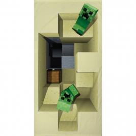 Minecraft strandtörölköző 70*140 cm