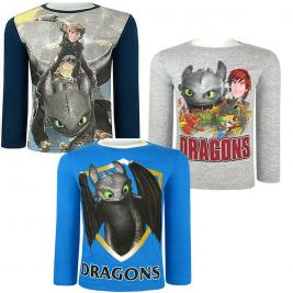 Így neveld a sárkányod - Dragons hosszú ujjú póló